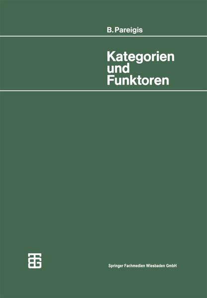 Kategorien und Funktoren - Coverbild