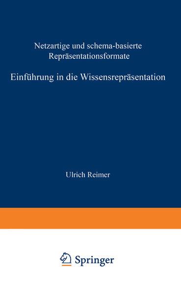 Einführung in die Wissensrepräsentation - Coverbild