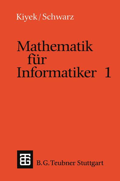 Mathematik für Informatiker 1 - Coverbild