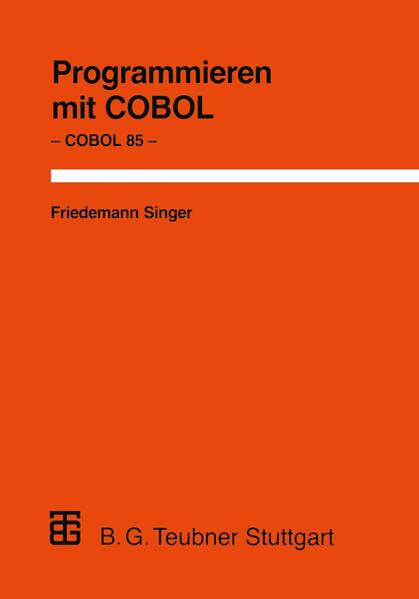 Programmieren mit COBOL - Coverbild