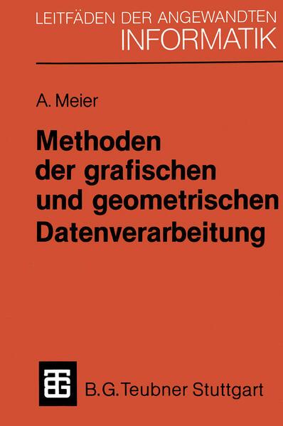 Methoden der grafischen und geometrischen Datenverarbeitung - Coverbild