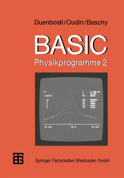 BASIC-Physikprogramme 2 - Coverbild