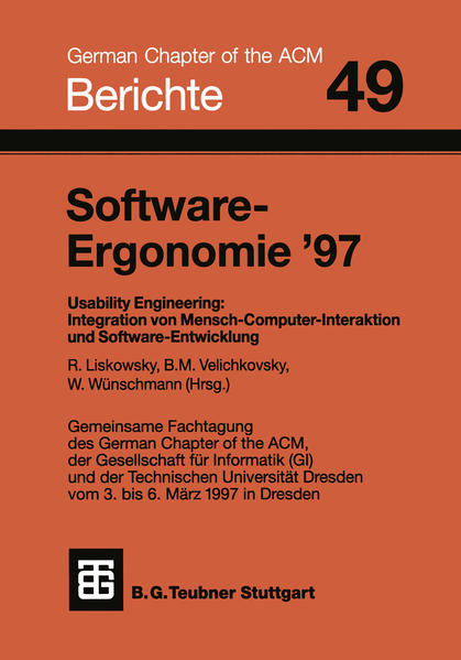 Software-Ergonomie '97 - Coverbild