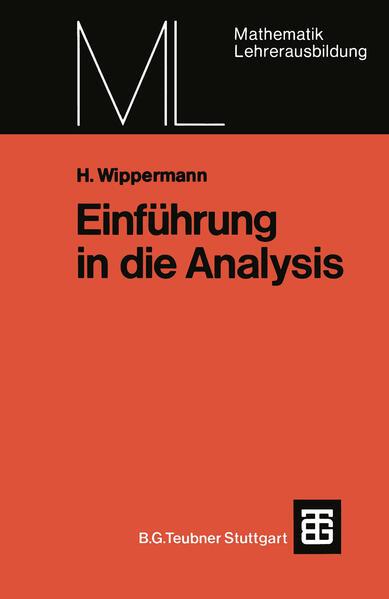 Einführung in die Analysis - Coverbild
