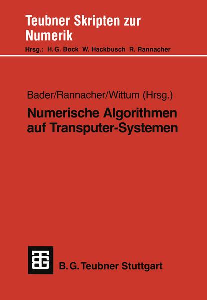 Numerische Algorithmen auf Transputer-Systemen - Coverbild