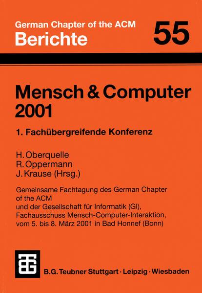 Mensch & Computer 2001 - Coverbild