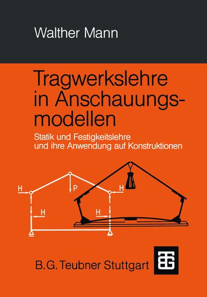 Tragwerkslehre in Anschauungsmodellen - Coverbild