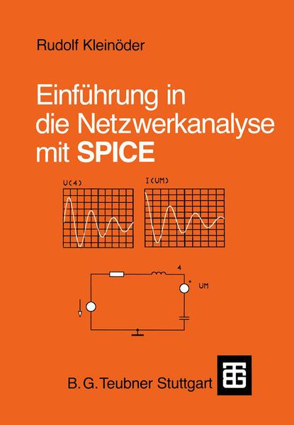 Einführung in die Netzwerkanalyse mit SPICE - Coverbild