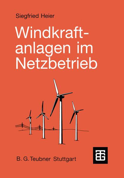 Windkraftanlagen im Netzbetrieb - Coverbild