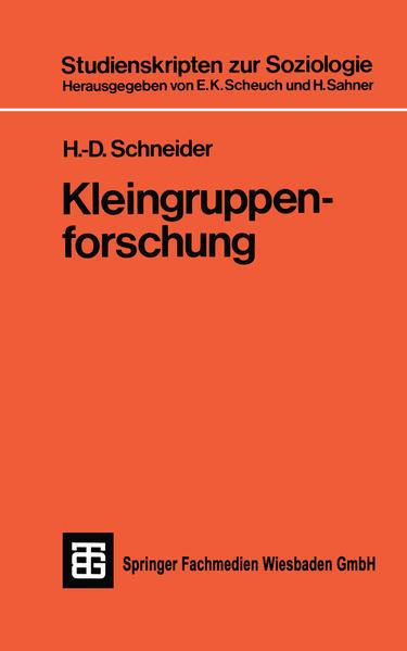 Kleingruppenforschung - Coverbild