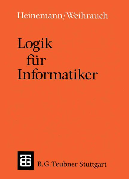 Logik für Informatiker - Coverbild