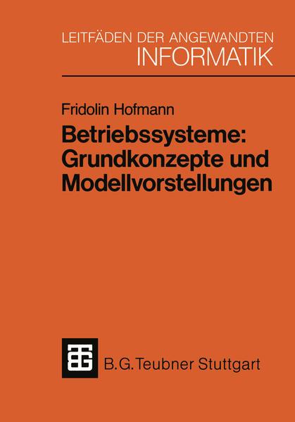Betriebssysteme: Grundkonzepte und Modellvorstellungen - Coverbild