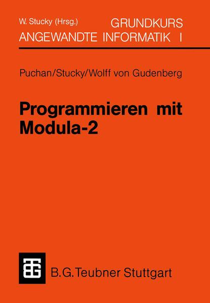 Programmieren mit Modula-2 Grundkurs Angewandte Informatik I - Coverbild