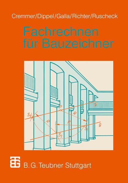 Fachrechnen für Bauzeichner - Coverbild