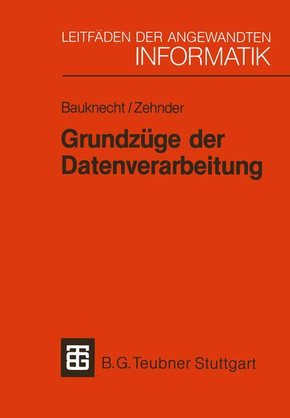 Grundzüge der Datenverarbeitung - Coverbild