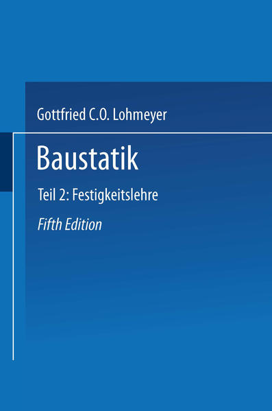 Baustatik - Coverbild