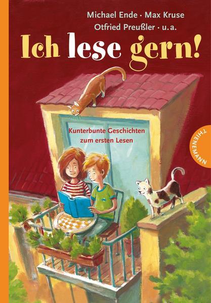 Ich lese gern!, Kunterbunte Geschichten zum ersten Lesen - Coverbild