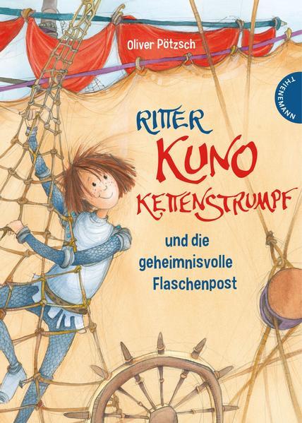 Ritter Kuno Kettenstrumpf und die geheimnisvolle Flaschenpost - Coverbild