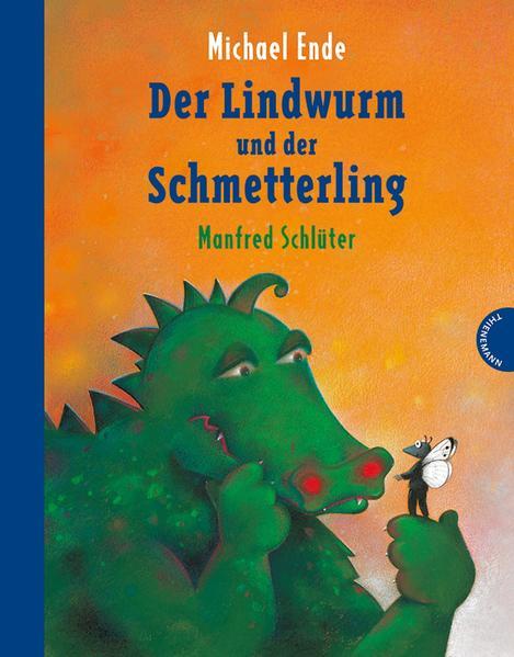 Der Lindwurm und der Schmetterling - Coverbild