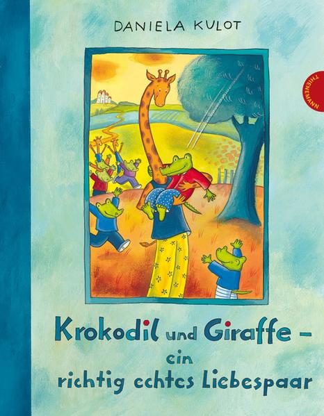 Krokodil und Giraffe – ein richtig echtes Liebespaar - Coverbild