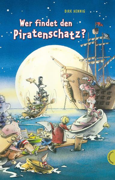 Wer findet den Piratenschatz? - Coverbild
