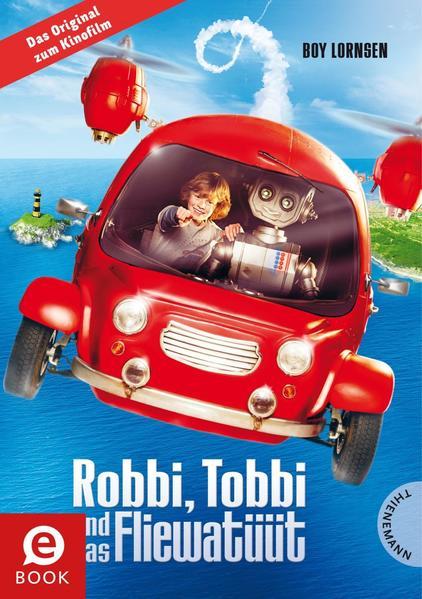 Robbi Tobbi und das Fliewatüüt, Das Buch zum Film - Coverbild