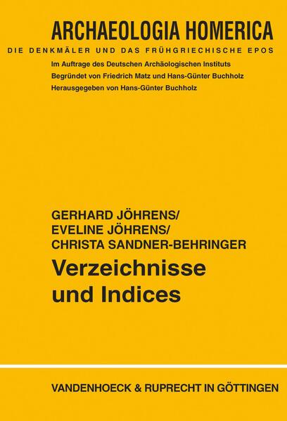 Verzeichnisse und Indices - Coverbild