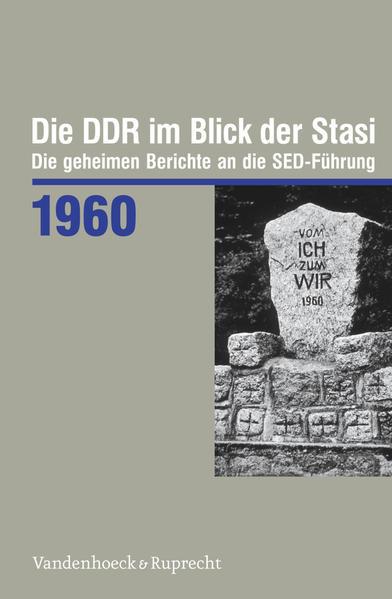 Die DDR im Blick der Stasi 1960 - Coverbild