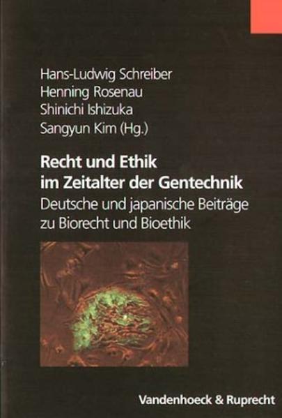 Recht und Ethik im Zeitalter der Gentechnik - Coverbild