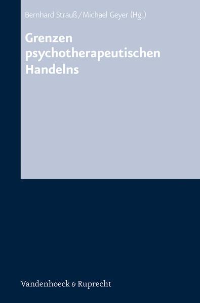 Grenzen psychotherapeutischen Handelns PDF Herunterladen