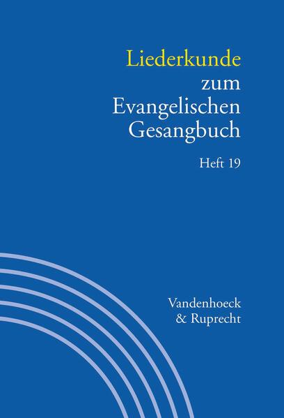 Kostenloser Download Liederkunde zum Evangelischen Gesangbuch. Heft 19 Epub