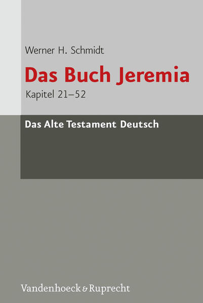 Das Buch Jeremia - Coverbild
