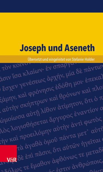 Joseph und Aseneth - Coverbild