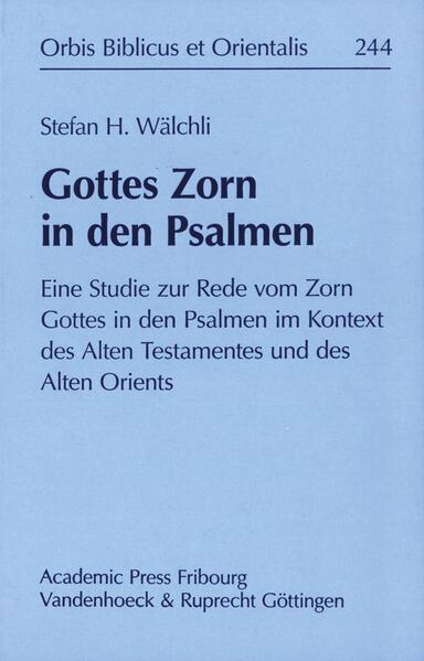 Gottes Zorn in den Psalmen - Coverbild