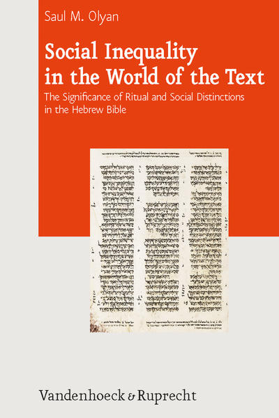 Social Inequality in the World of the Text - Coverbild