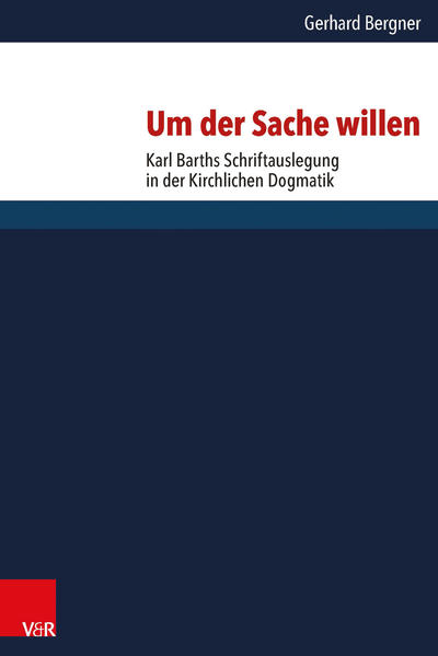 Um der Sache willen - Coverbild