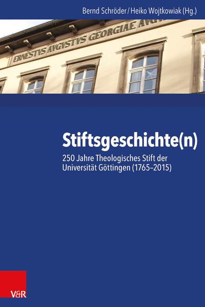 Stiftsgeschichte(n) - Coverbild
