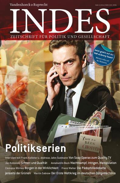 Politikserien - Coverbild