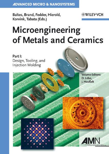 Microengineering of Metals and Ceramics - Coverbild