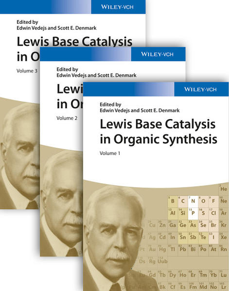 Lewis Base Catalysis in Organic Synthesis - Coverbild