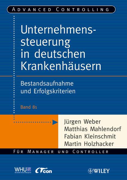 Unternehmenssteuerung in deutschen Krankenhäusern - Coverbild