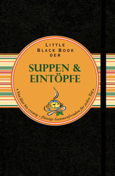 Little Black Book der Suppen und Eintöpfe - Coverbild