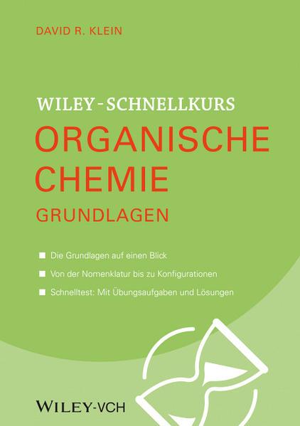 Wiley Schnellkurs Organische Chemie Grundlagen - Coverbild