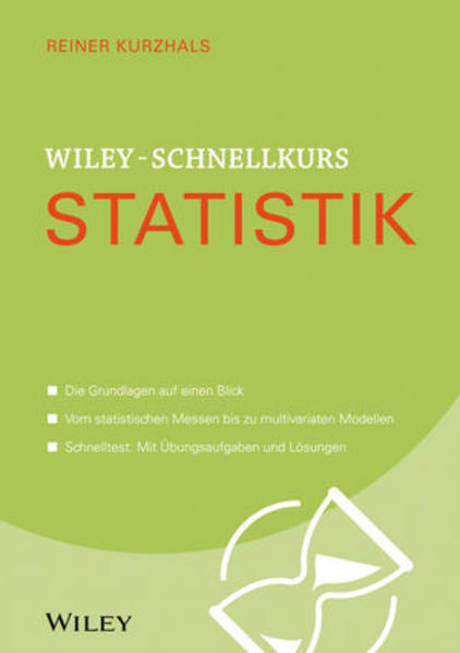 Wiley-Schnellkurs Statistik - Coverbild