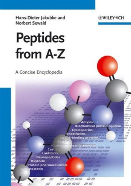 Peptides from A to Z - Coverbild