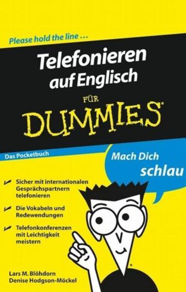 Telefonieren auf Englisch für Dummies Das Pocketbuch - Coverbild