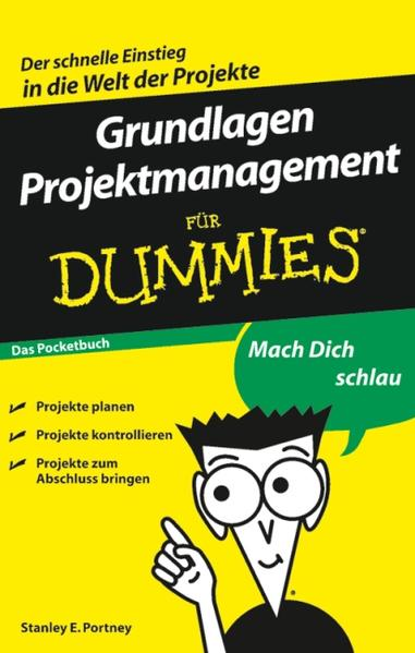 Grundlagen Projektmanagement für Dummies Das Pocketbuch - Coverbild