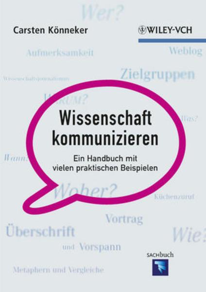 Wissenschaft kommunizieren - Coverbild