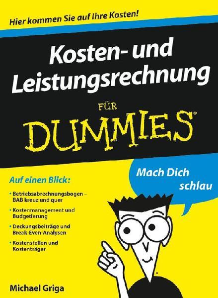 Kosten- und Leistungsrechnung für Dummies - Coverbild