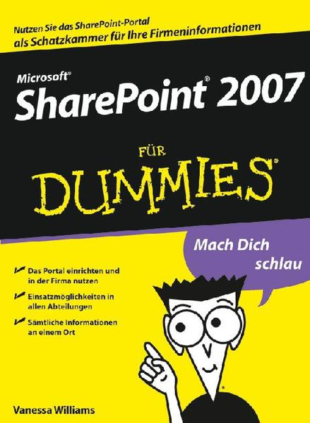 Microsoft SharePoint 2007 für Dummies - Coverbild